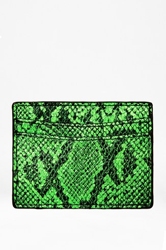 Animal Print Card Holder