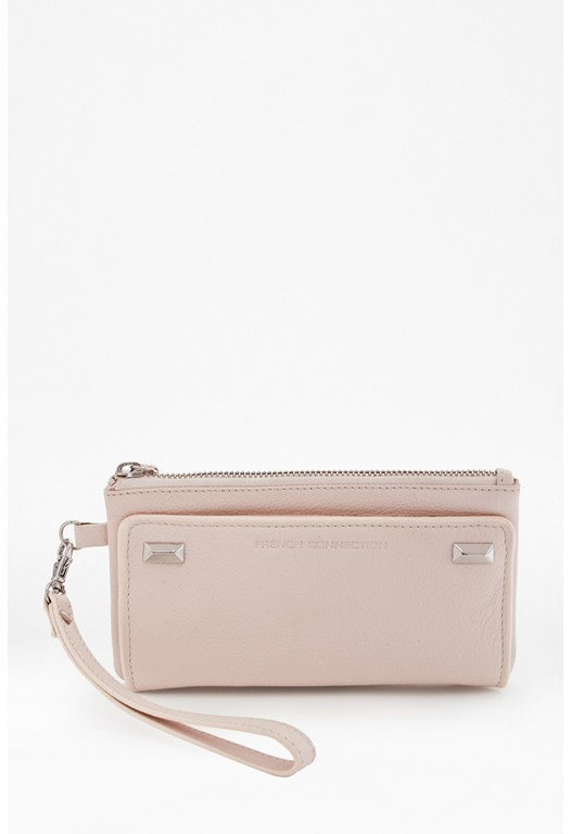Sonia Stud Leather Purse