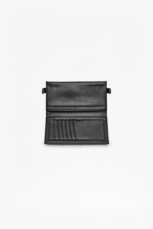 Complete the Look Priya Panelled Faux Leather Wallet