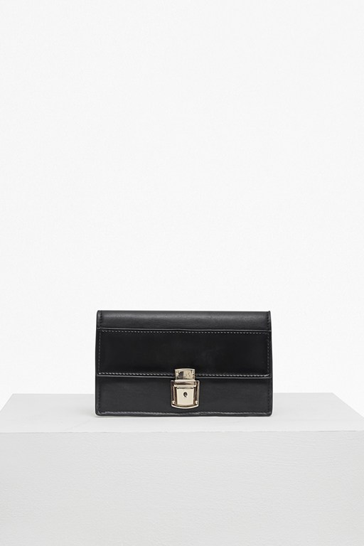 Complete the Look Clean Claire Buckle Front Wallet
