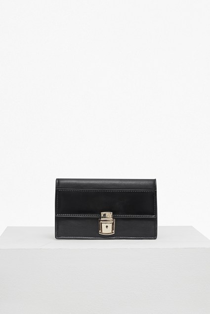 Clean Claire Buckle Front Wallet