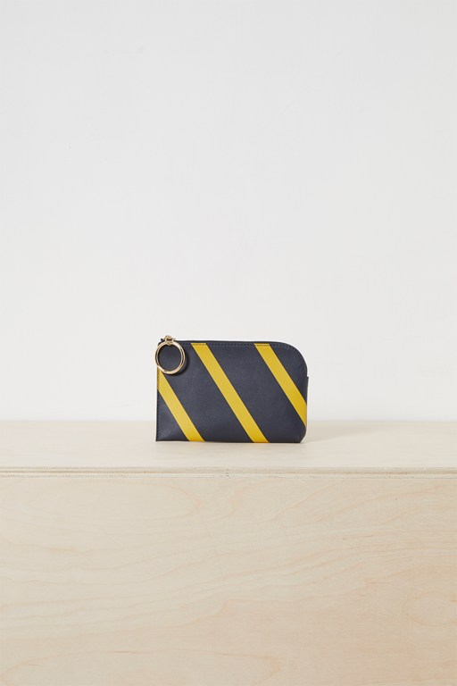 oakley striped blocked wallet