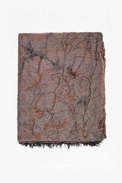 Distressed Jacquard Woven Scarf