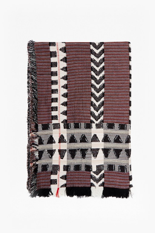 Complete the Look Dona Jacquard Scarf