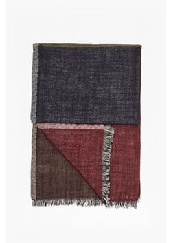 Elva Colour Block Wool Scarf
