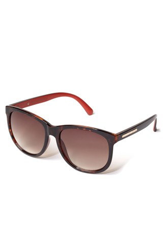 Deep Round Frame Sunglasses