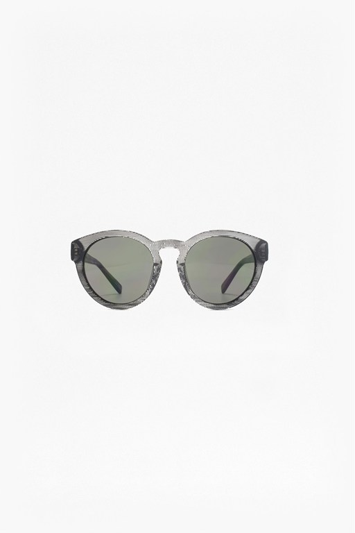 Complete the Look Premium Chunky Round Acetate Sunglasses