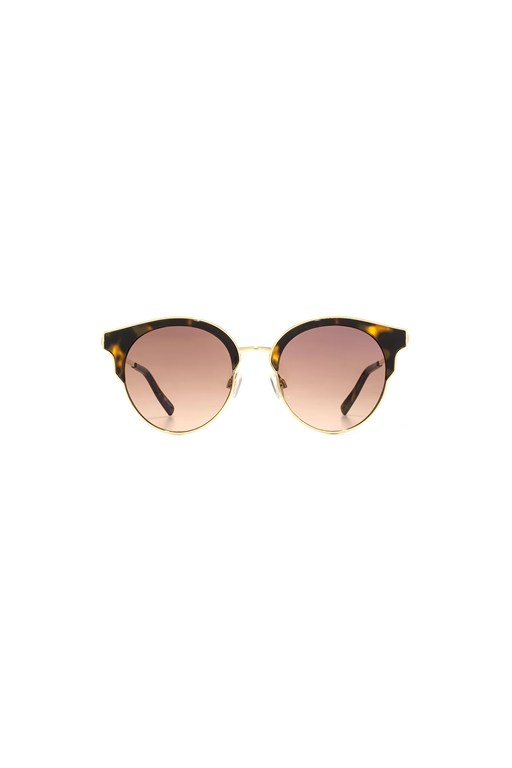 Complete the Look Semi Rimless Round Sunglasses