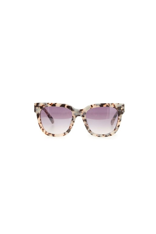 Complete the Look Chunky Acetate Tortoiseshell Sunglasses