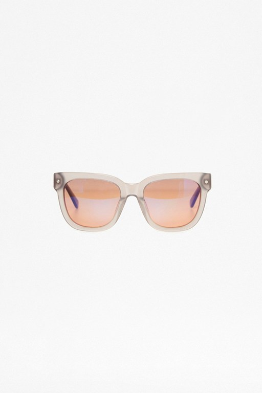 Complete the Look Chunky D Frame Acetate Sunglasses