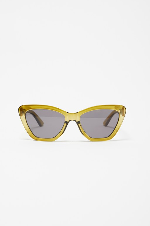 Complete the Look Angular Cat Eye Sunglasses