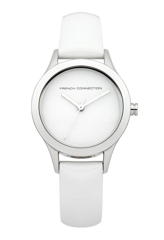 CHARLOTTE  Glossy Leather Watch