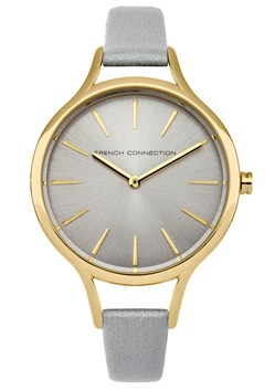 Gold Round and Polished Case Watch