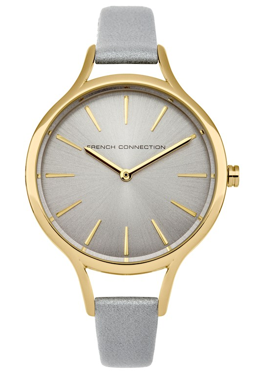 Gold Oval and Polished Case Watch