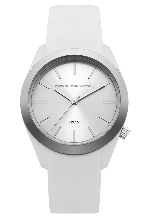 Parker Classic Metal Plated Silicone Watch