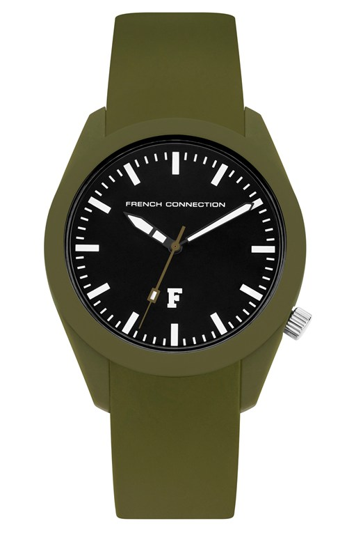 Complete the Look Parker Style Silicone Watch