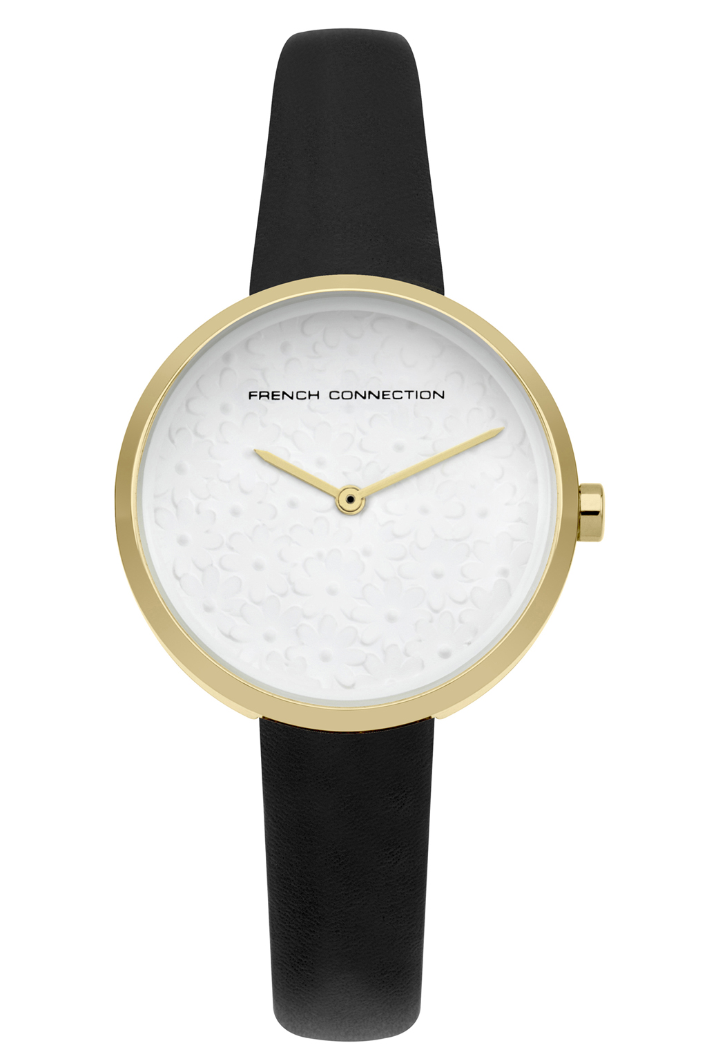 Flower Dial Watch - white