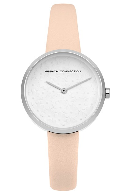 Nude Flower Dial Watch - nude thumbnail
