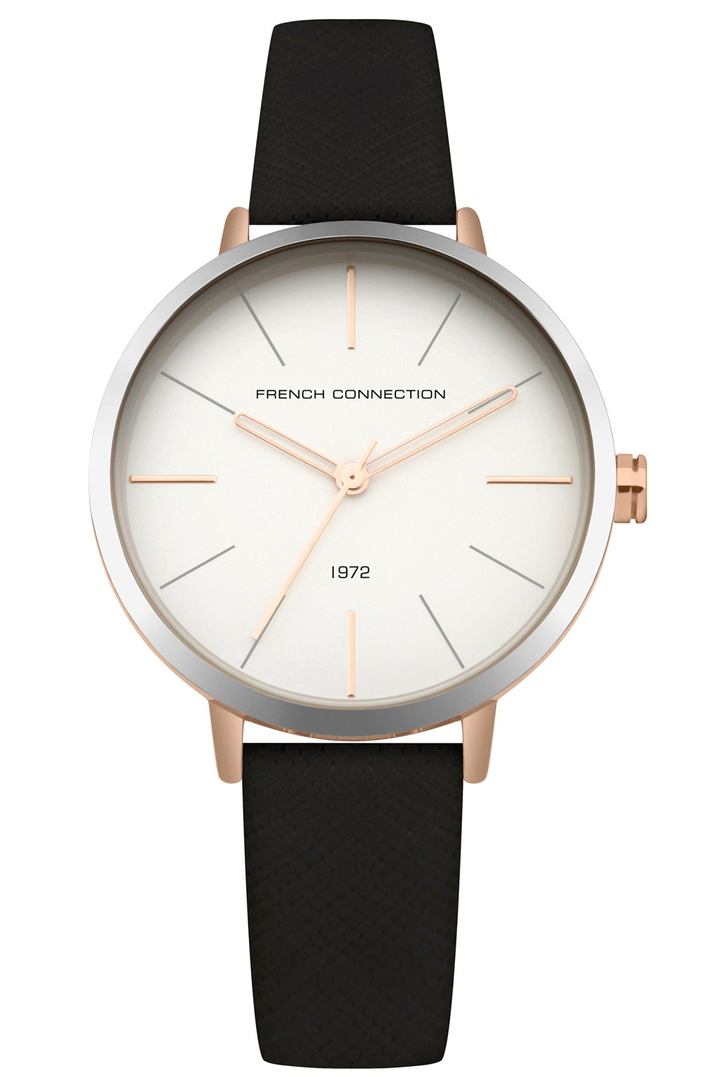 ac9fdde4595f5 Saffiano Leather Strap Watch | Collections | French Connection