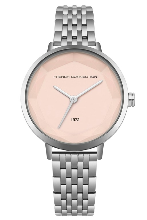 Complete the Look Silver Sunray Dial Bracelet Watch