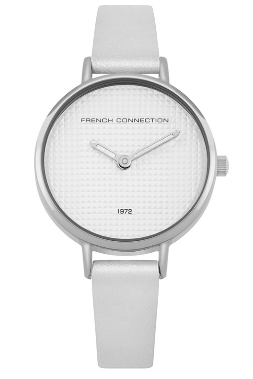 Complete the Look White Small Dial Watch