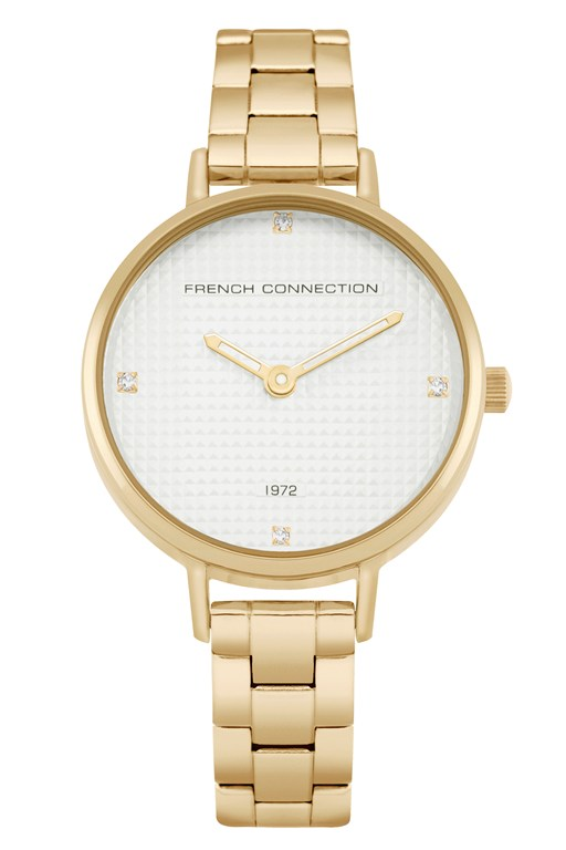 Complete the Look Gold Bracelet Watch