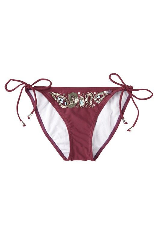 Pretty Beading Bikini Briefs