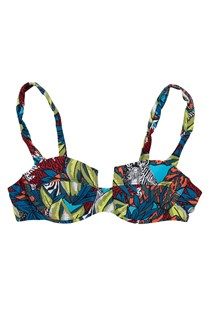 Electric Forest Bikini Bra Top