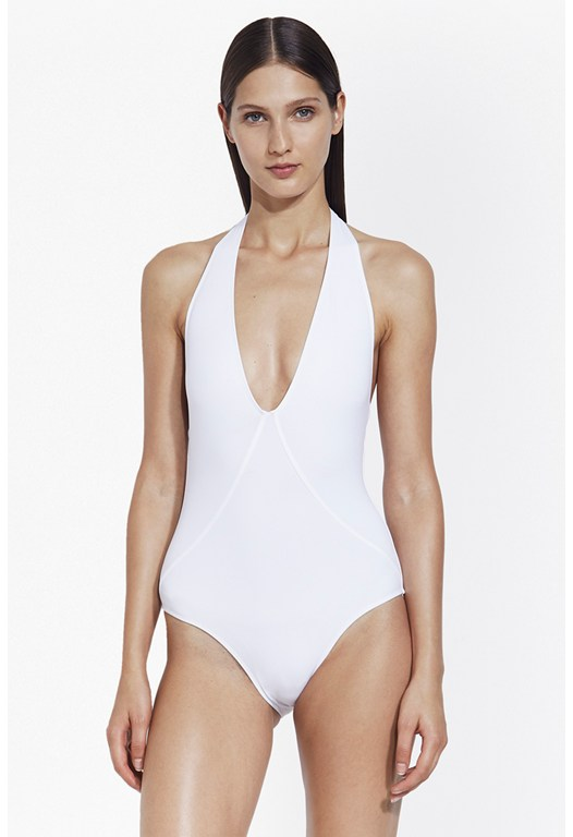 Halter Plunge Swimsuit