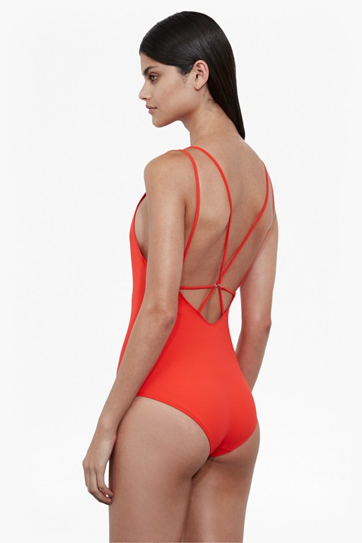 string back swimsuit