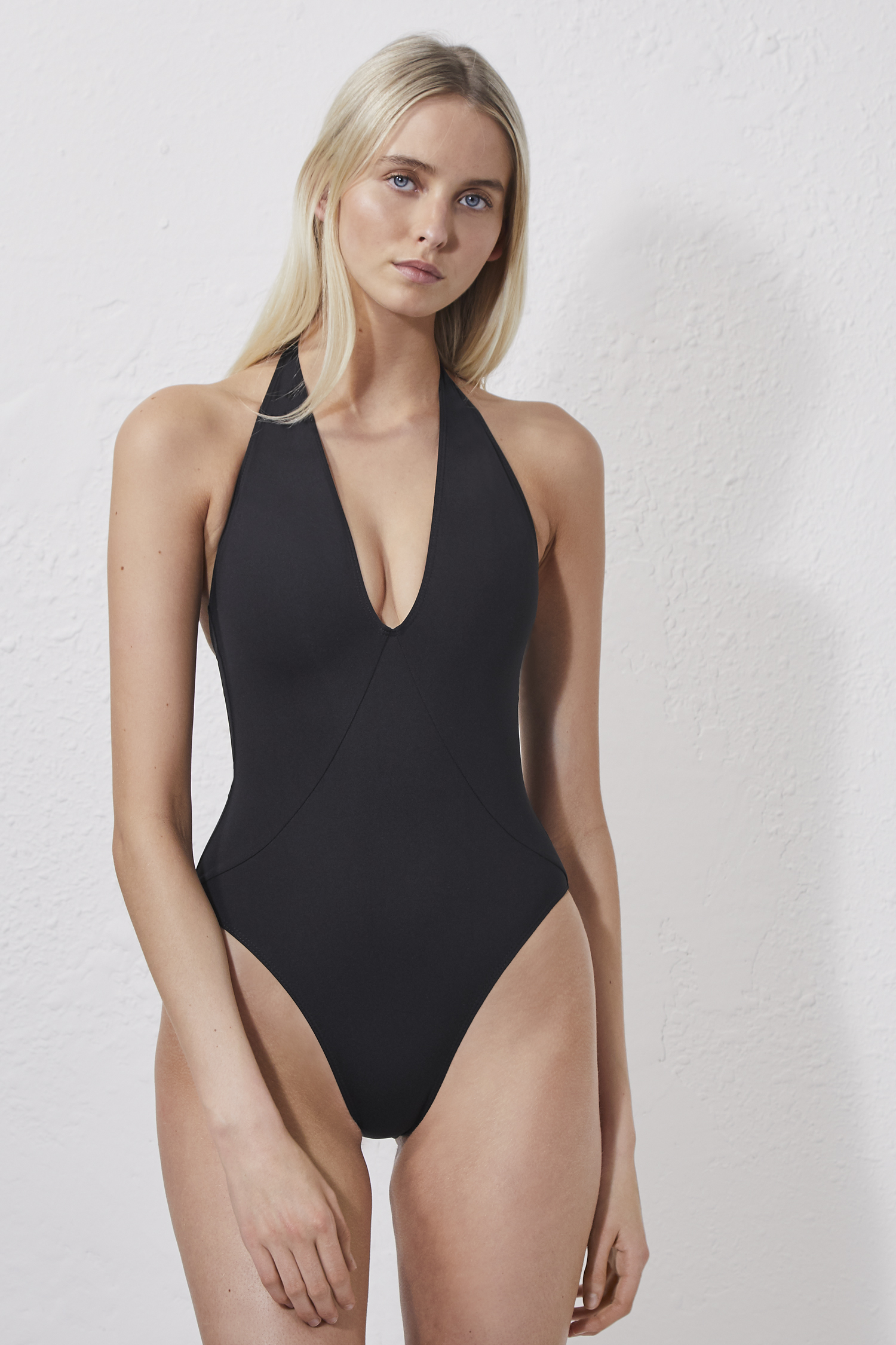 e24c338b75 Halter Neck Swimming Costume | Collections | French Connection