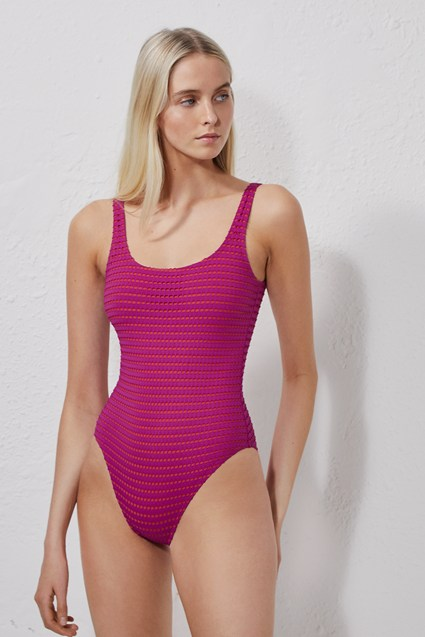 Pointelle Swimming Costume