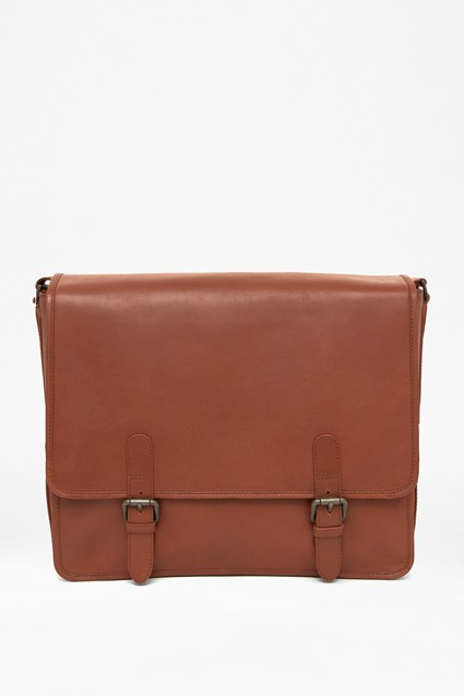 Task Force Leather Satchel