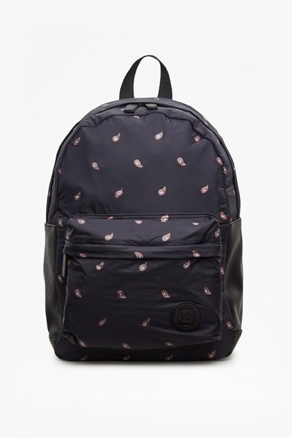 Printed Paisley Backpack