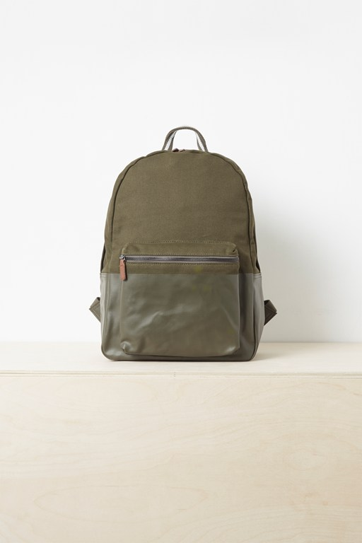 Complete the Look Khaki Rucksack