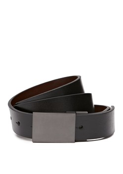 Battle Plaque Leather Belt
