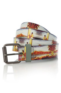 Printed Vacation Belt