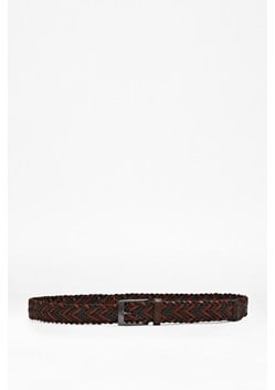 Henry Coloured Plait Belt