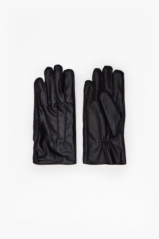 rasheed pintuck leather gloves
