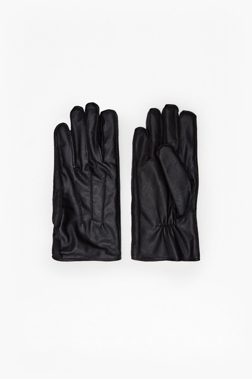 Complete the Look Rasheed Pintuck Leather Gloves