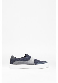 Cassium Digital Print Slip-On Trainers