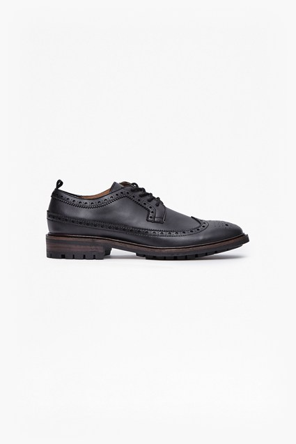 Cajohl Leather Wingtip Brogues