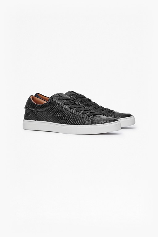 Complete the Look Carlo Snake Emboss Trainers