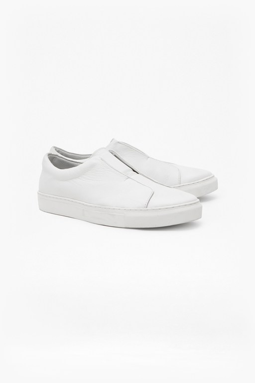 Complete the Look Non Eyelet Cupsole Leather Trainers