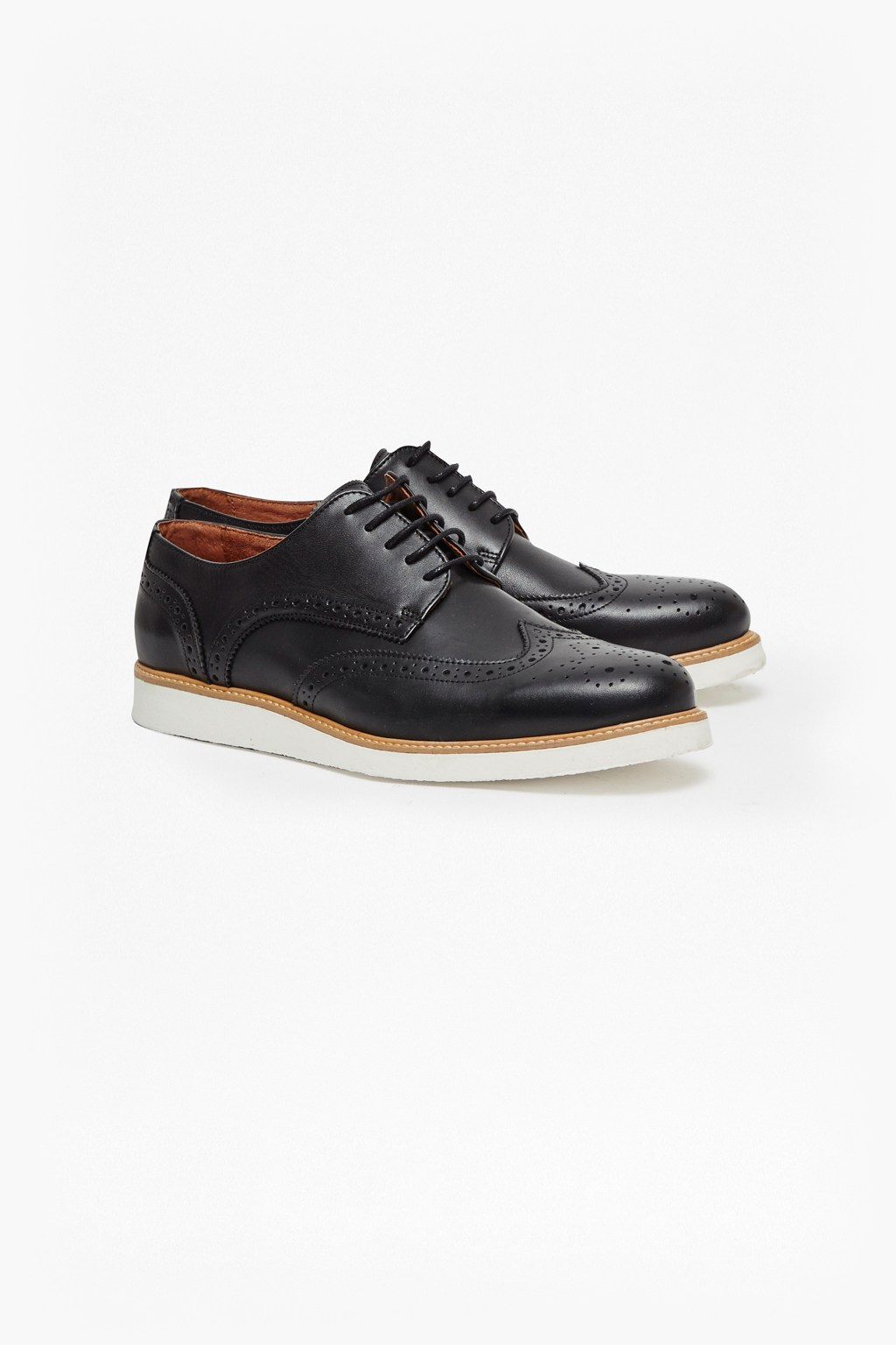 d546b8b8aa071 Casual Leather Brogue Shoes. loading images.