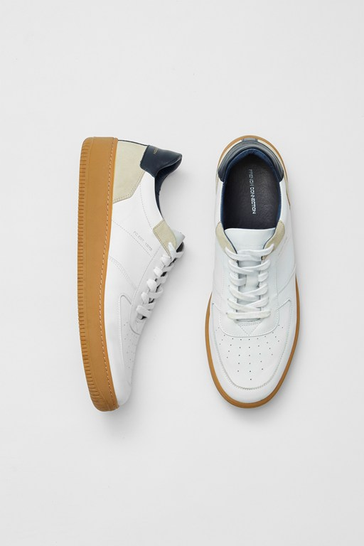 Complete the Look Aaron Lace Up Leather Trainers