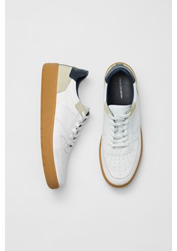 Aaron Lace Up Leather Trainers