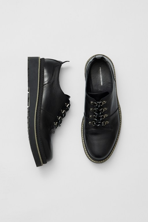 Complete the Look Flatform Leather Shoes