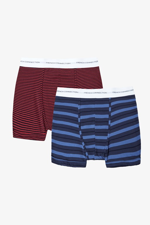 Complete the Look 2 Pack Stripe Boxer