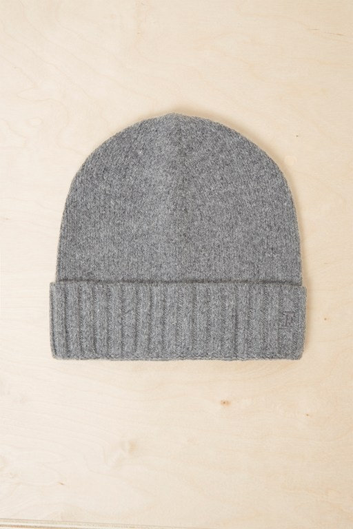 supersoft wool-cashmere beanie